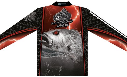 Barramundi Black  -Fishing shirt -quick dry - uv rated