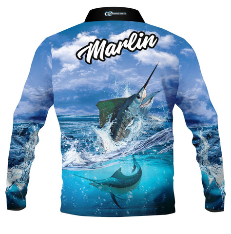 Marlin -Fishing shirt -quick dry - uv rated