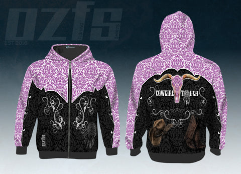 Cowgirl Tough Hoodies