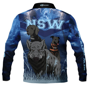 NSW Hunter - Fishing shirt -Quick dry - Uv rated