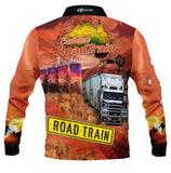 Outback Roadtrain   -Fishing shirt -quick dry - uv rated
