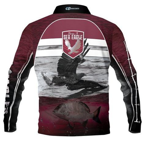 Kids Wear Sea Eagles Fishing  -Fishing shirt -Quick dry - Uv rated