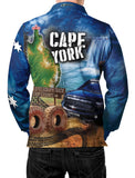 Cape York Blue -Fishing shirt -quick dry - uv rated