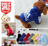 Amstergear Dogbone Doggie Hoodie for Smaller Dogs