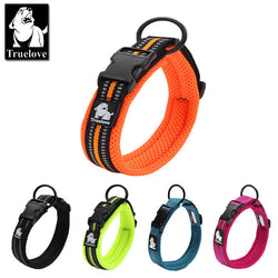 Truelove Adjustable Mesh Padded Dog Collar