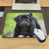 MaiYaCa Vivid Hot Pug Dog New Design Silon Anti-slip Mousepad Computer Mouse Pad  For Optal Me Trackball Mouse