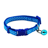 Adjustable Polka Dot Dog Collar
