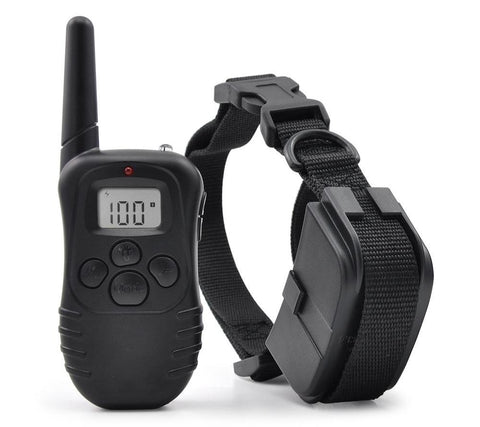 Shock Vibra Remote Control LCD Electric Dog Training Collar