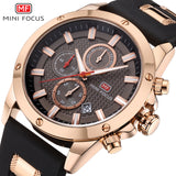 Mini Focus Large Dial Mens Sports Watch, Waterproof, Chronograph