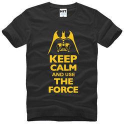 """Keep Calm And Use The Force"" STAR WARS Men's T-Shirt"