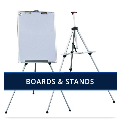 Boards, Easels & Whiteboards