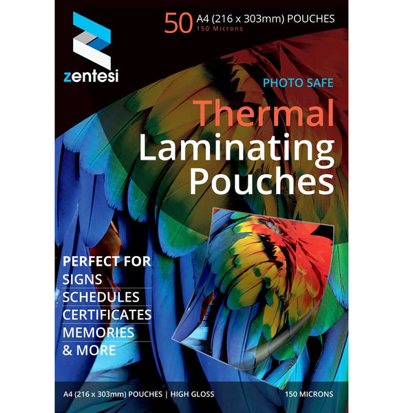 laminating pouches 50 sheets