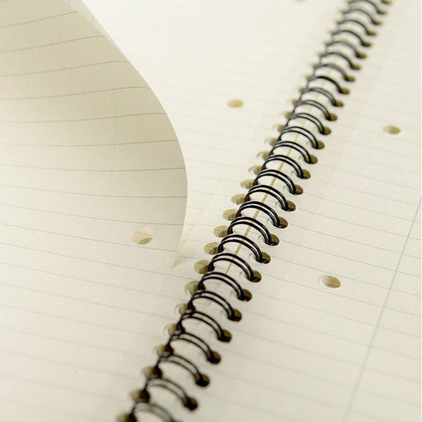 120 Pages Ruled Vellum Notebook