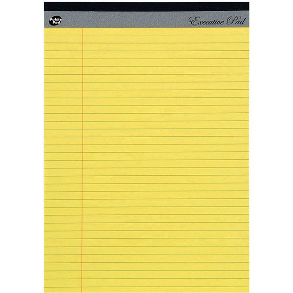 Yellow Legal Executive Refill Pad
