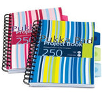 Striped Project Book with Dividers