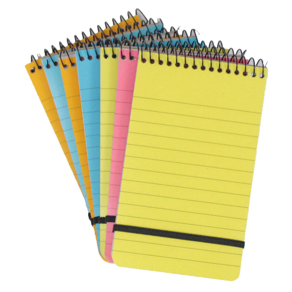 Multi-coloured Neon Notepads