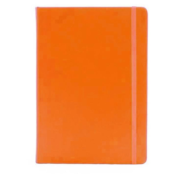 A5 Orange Ruled Notebook - Collins Legacy