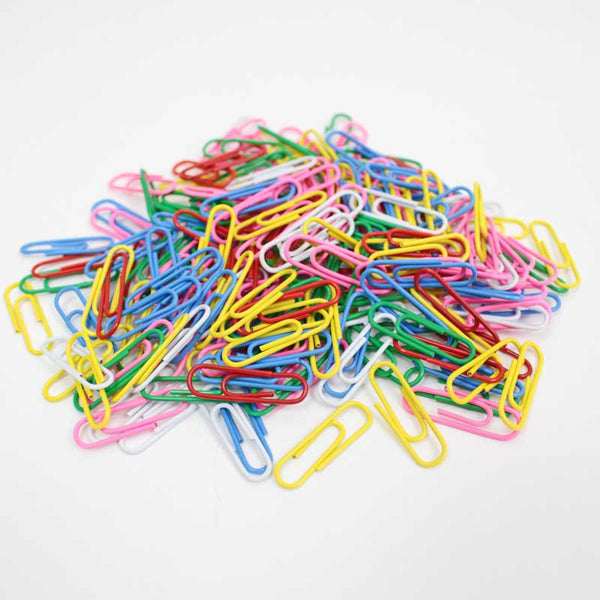 200 Coloured Paper Clips