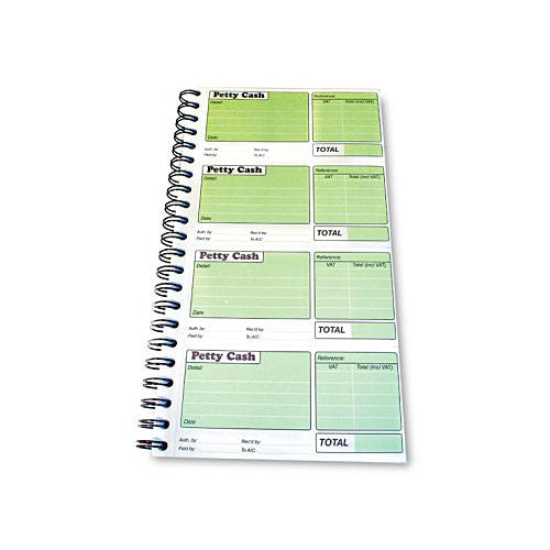Pukka Pad NCR Duplicate Petty Cash Book - 152x280mm
