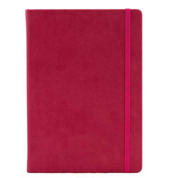 A5 Pink Ruled Notebook - Collins Legacy