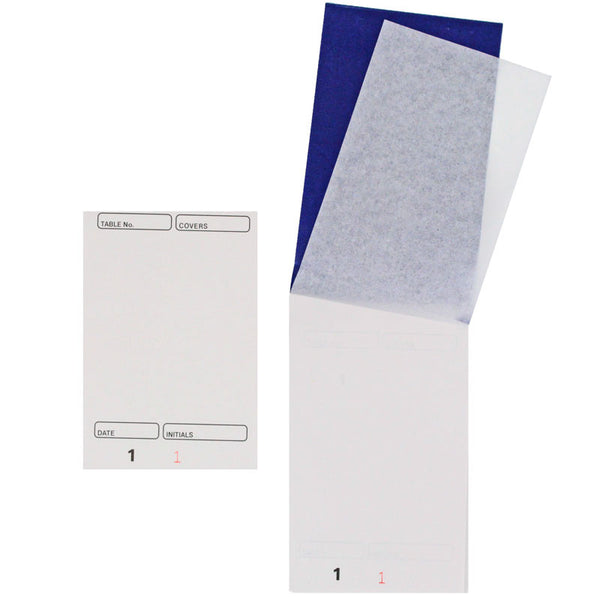 Restaurant Waiter Order Pad (with Carbon)