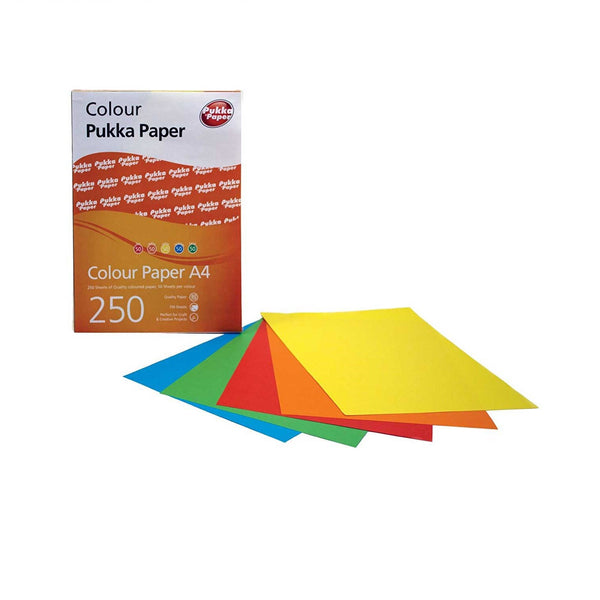 A4 Size Assorted Coloured Paper
