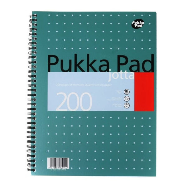 Metallic Ruled Jotta Notepad