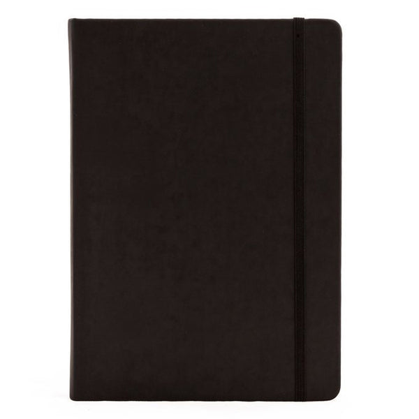 A5 Black Ruled Notebook - Collins Legacy