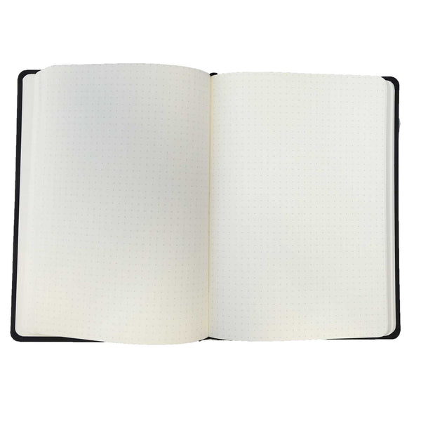 A5 Black Dotted Notebook - Collins Legacy