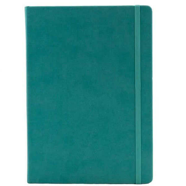 A5 Teal Ruled Notebook - Collins Legacy