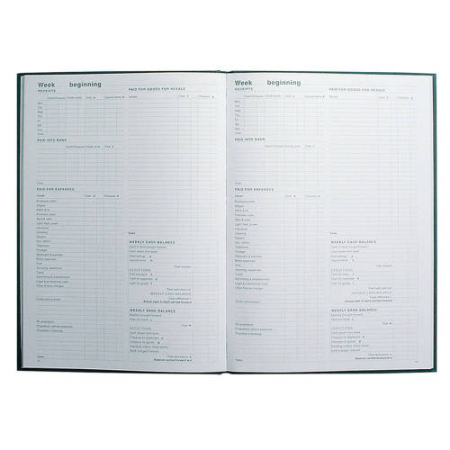 Collins, A4 Accounting Record Book - Self Assessment and Tax Return