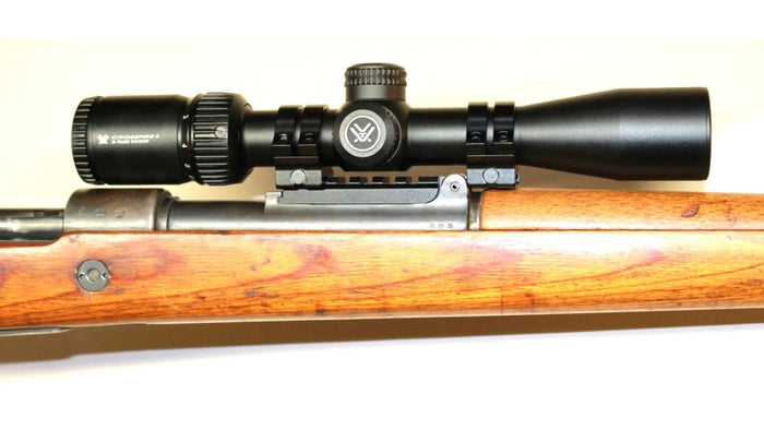 Mauser K98K Ultra low-profile NDT Scout Mount for Long Eye Relief Scopes