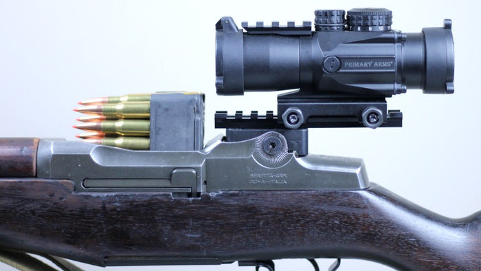 M1 Garand / M1A Micro Red Dot Base and Picatinny Rail Scope Mount Gen 2