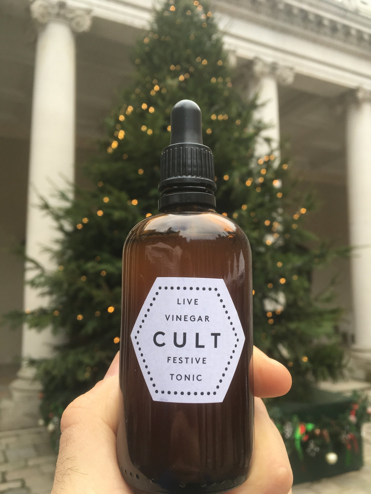 Cult Vinegar Festive Tonic