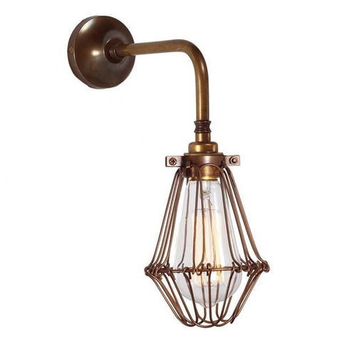 PRAIA VINTAGE CAGE WALL LIGHT
