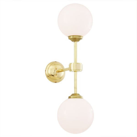 YAOUNDE DOUBLE GLOBE WALL LIGHT