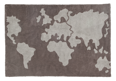 A World map kilimas 140x200