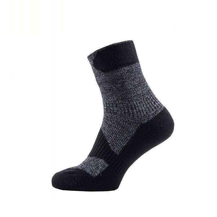Sealskinz Walking Thin Ankle 全天候防水襪 (中低筒) (Dark Grey/Black)