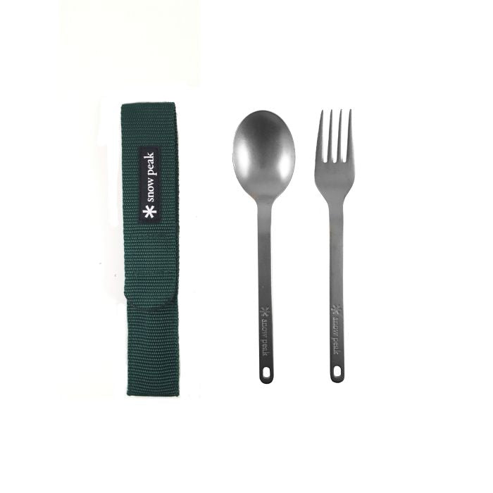 Snow Peak 鈦餐具套裝 SCT-002 Portable Cutlery Set | Snow Peak Portable Cutlery Set SCT-002