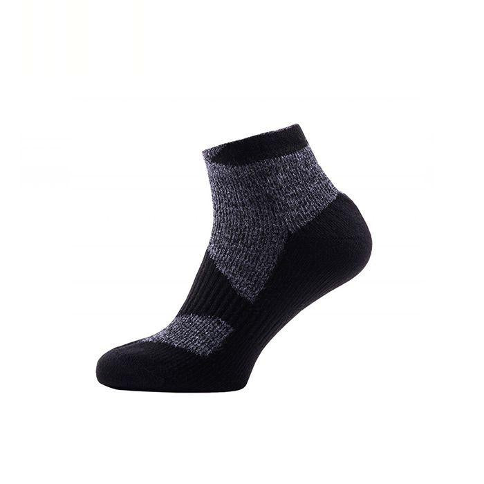 Sealskinz Walking Thin Socklet 全天候防水襪 (低筒) (Dark Grey/Black)