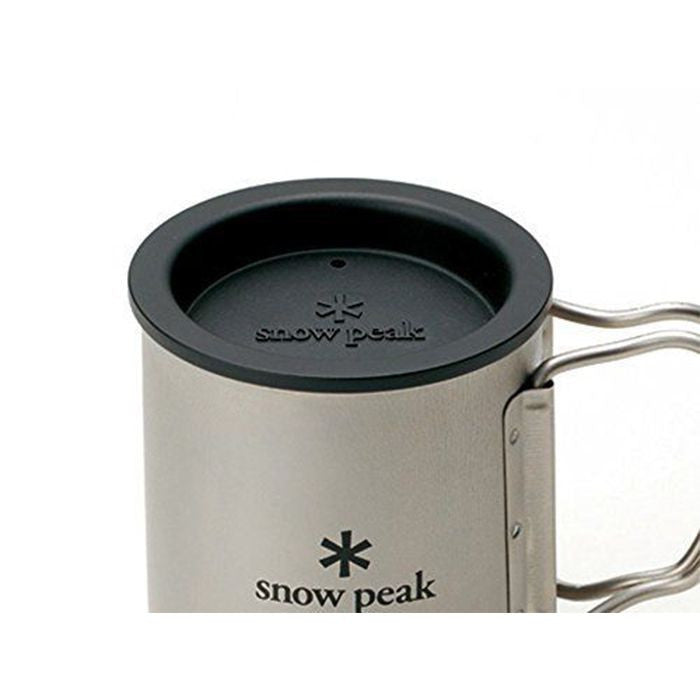 Snow Peak 隔熱保溫杯蓋(450ml雙層鈦杯專用) Insulation Lid for 450ml MG-053 | Snow Peak Insulation Lid for 450ml Titanium Double Wall Mug MG-053