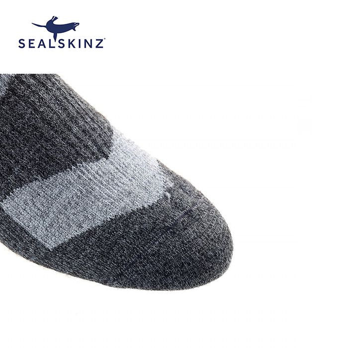 Sealskinz Walking Thin Ankle 全天候防水襪 (中低筒) (Grey Marl/Dark Grey Marl) | Sealskinz Walking Thin Ankle (Grey Marl/Dark Grey Marl)