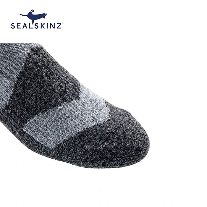 Sealskinz Walking Thin Mid 全天候防水襪 (中筒) (Grey Marl/Dark Grey Marl) | Sealskinz Walking Thin Mid (Grey Marl/Dark Grey Marl)