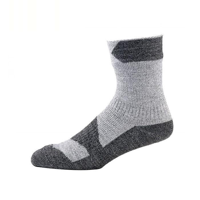 Sealskinz Walking Thin Ankle 全天候防水襪 (中低筒) (Grey Marl/Dark Grey Marl)