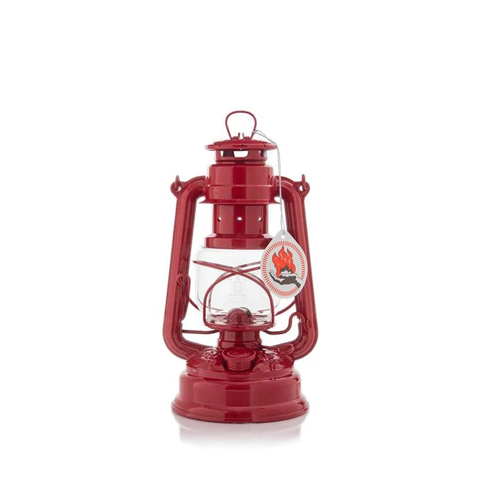 Feuerhand Hurricane Lantern Baby Special 276 Ruby Red