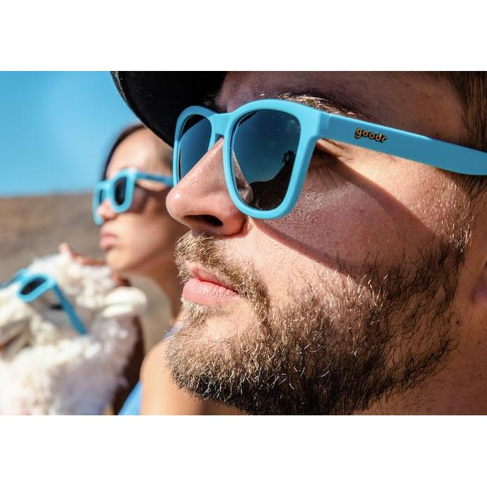 Goodr Sports Sunglasses - Frank's Llama Land Ditty 運動跑步太陽眼鏡