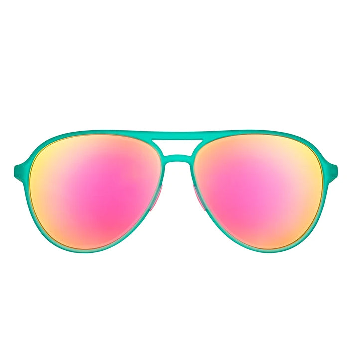 Goodr Sports Sunglasses MACH Gs - Kitty Hawkers' Ray Blockers