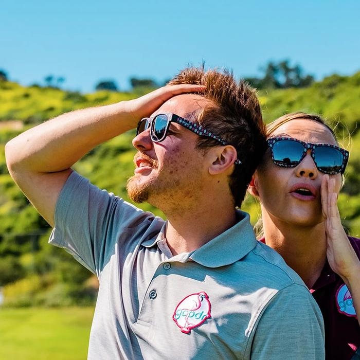 Goodr Sports Sunglasses BFGs - Fore-Play Guaranteed 運動跑步太陽眼鏡(加闊鏡框)