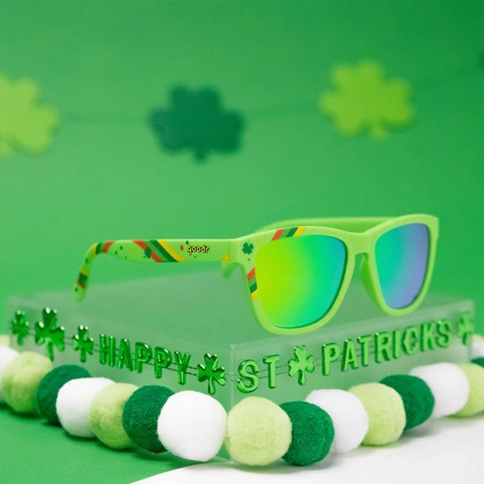 Goodr Sports Sunglasses - Irish For A Day
