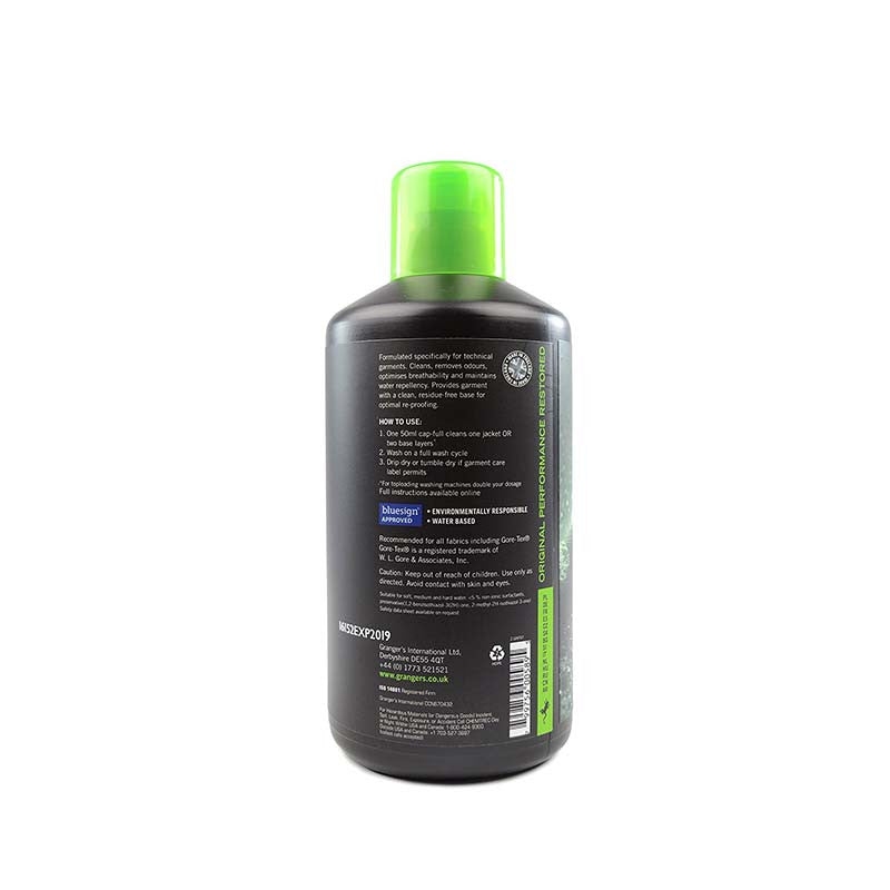 Granger's Performance Wash 防水衣物清潔劑 1L | Granger's Performance Wash 1L